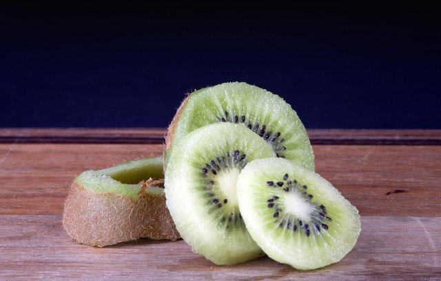 Kiwi fruit skin has even more fiber and vitamins than the flesh.