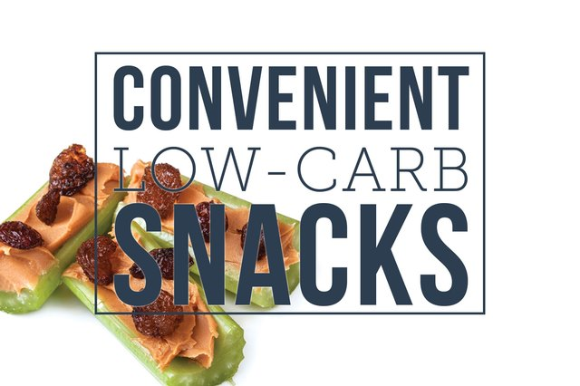 10 Convenient Low-Carb Snacks