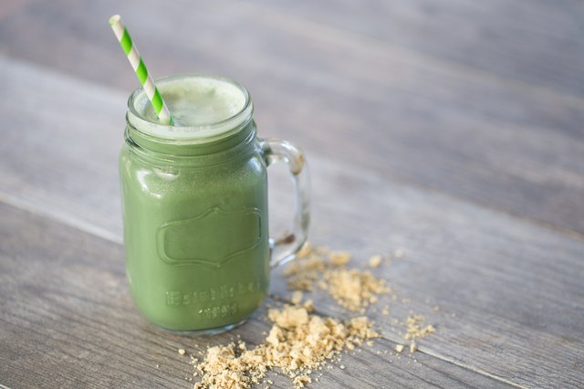 Greenberry Shakeology with peanut butter
