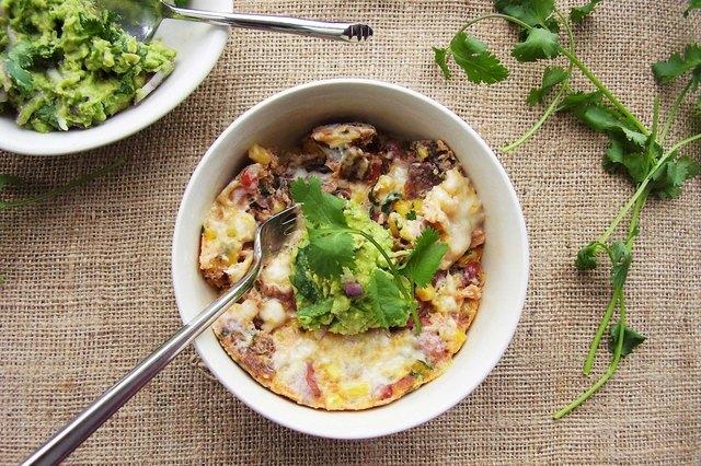 Fiesta Mexican Bean and Organic Corn Casserole