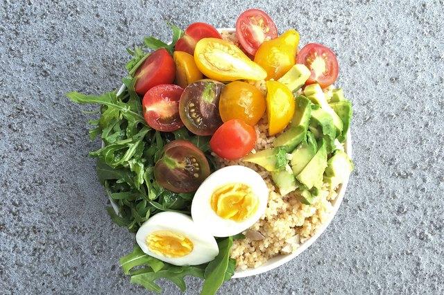Bulgur Salad Breakfast Superfood Bowl