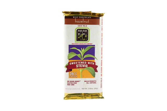 Coco Polo: The Stevia Chocolate Company Clean Chocolate Bar