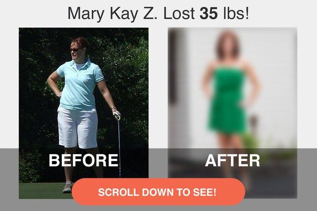 Mary Kay's before photo.