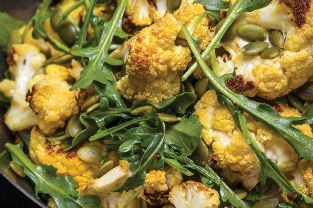 Cauliflower Salad With Lime and Turmeric