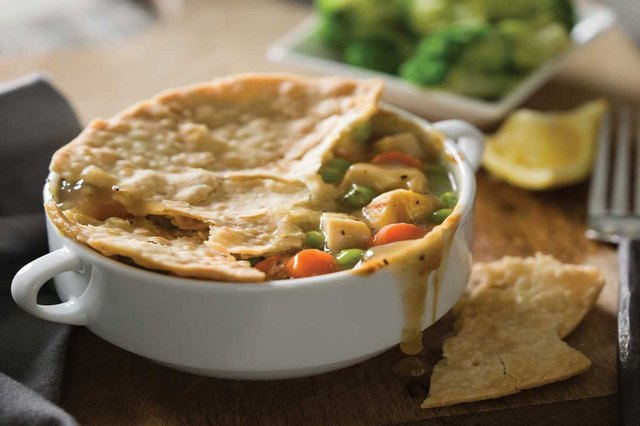 Jenny Craig chicken pot pie