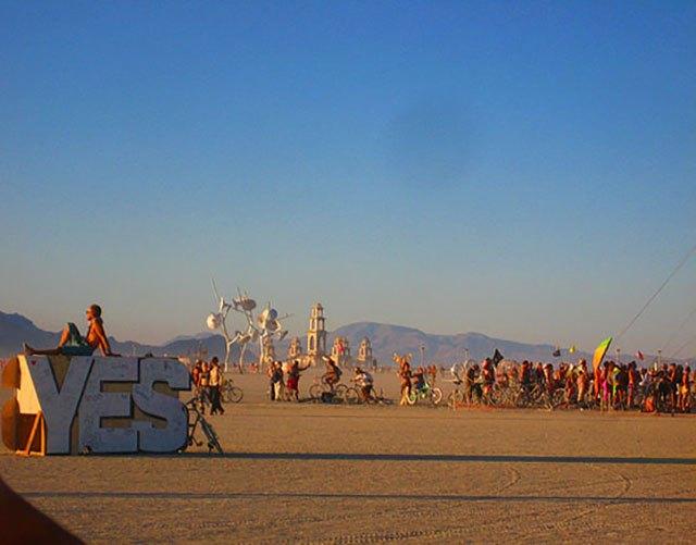 Say Yes to Burning Man