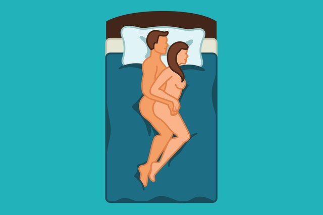 Back issues? Try spooning to take the strain off.