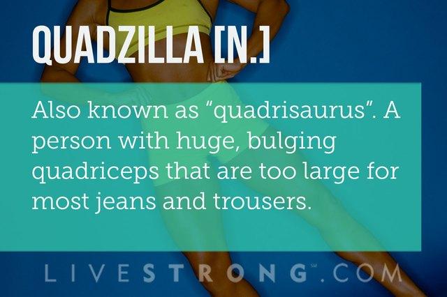 Definition of quadzilla.
