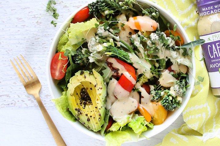 Big Ass Keto Salad