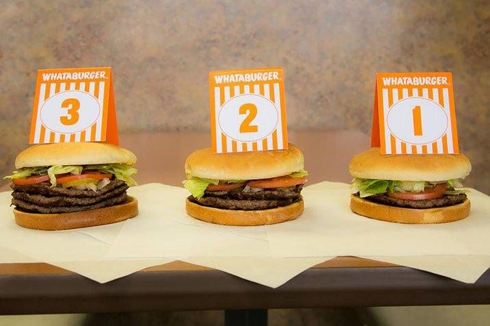 Triple Meat Whataburger