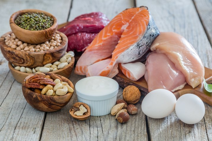 Selection of food for weight loss