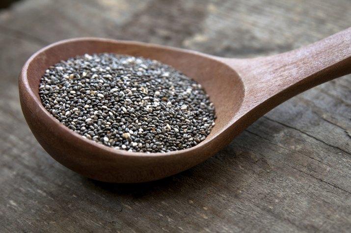 Nutritious chia seeds