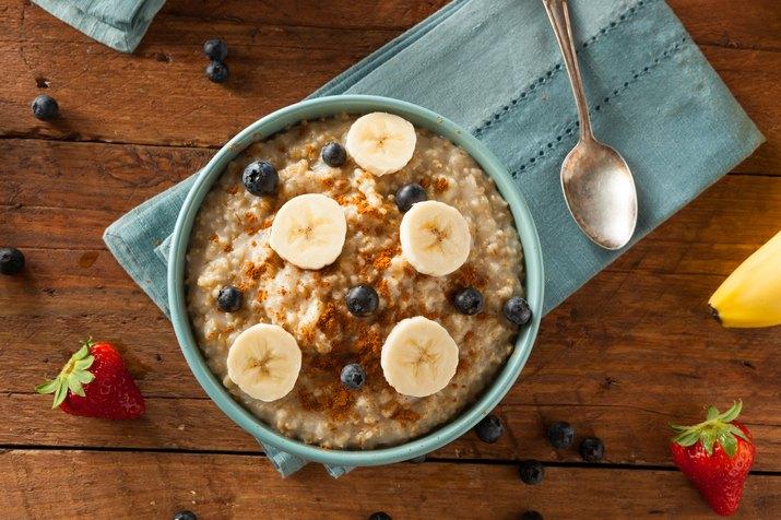 Steel Cut Oatmeal for muscle building diet