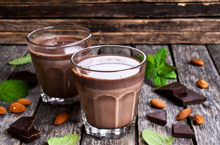 Chocolate milk for muscle building diet