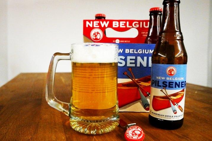 New Belgium Pilsener