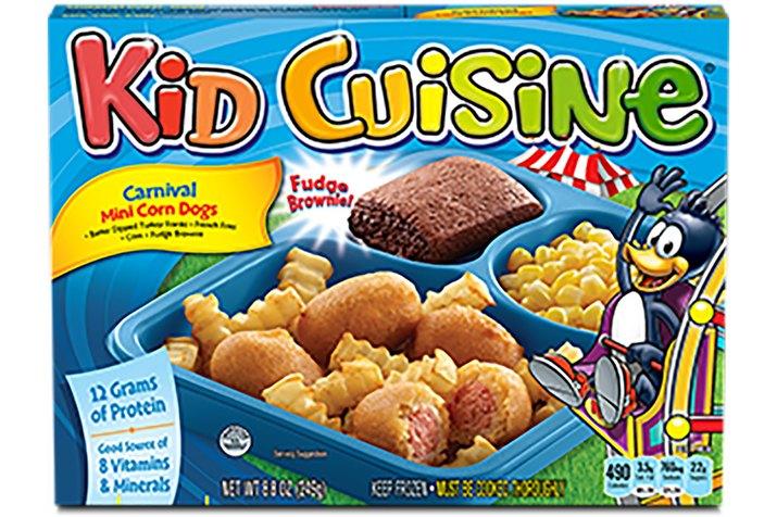 Kid Cuisine Carnival Mini Corn Dog Meal