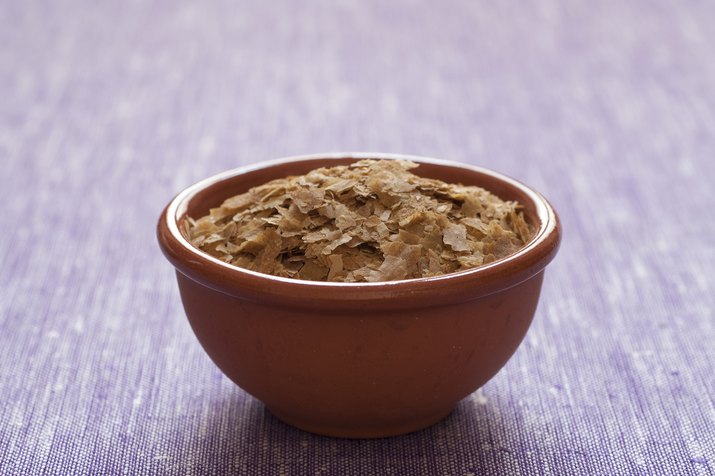 A bowl of nutritional yeast