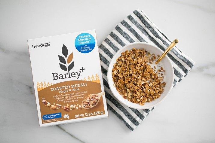 Freedom Foods Barley+ Toasted Muesli
