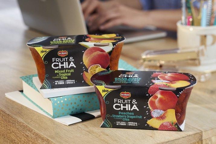 Del Monte® Fruit & Chia™ Fruit Cup®