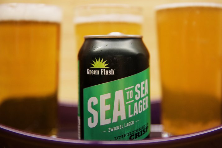 Green Flash Brewing Sea to Sea Lager