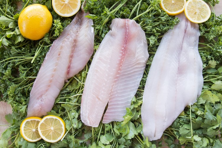 petrale sole, tilapia and snapper