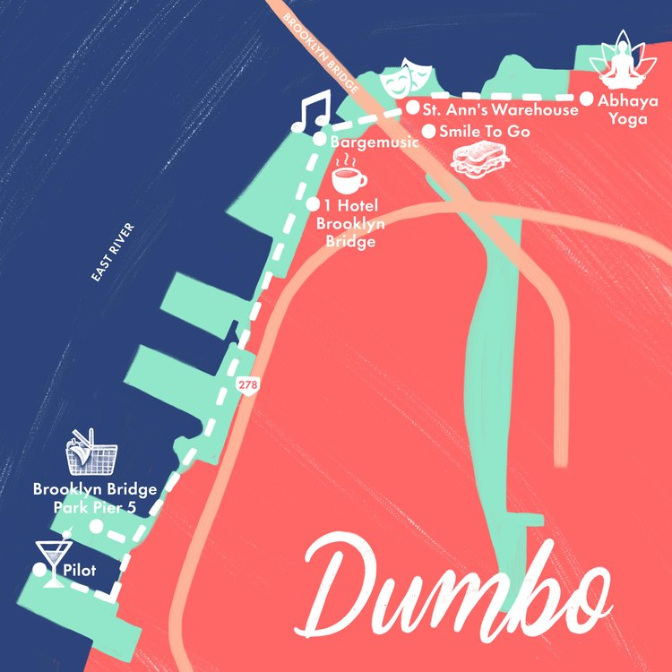 dumbo brooklyn map