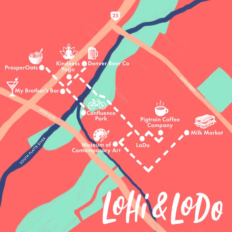 LoHi and LoDo map