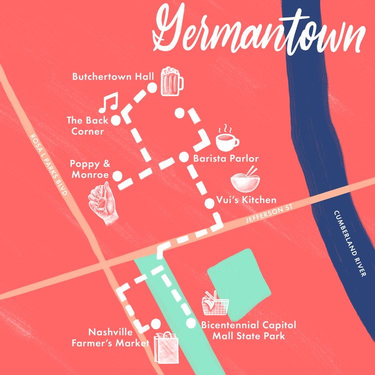 Germantown map
