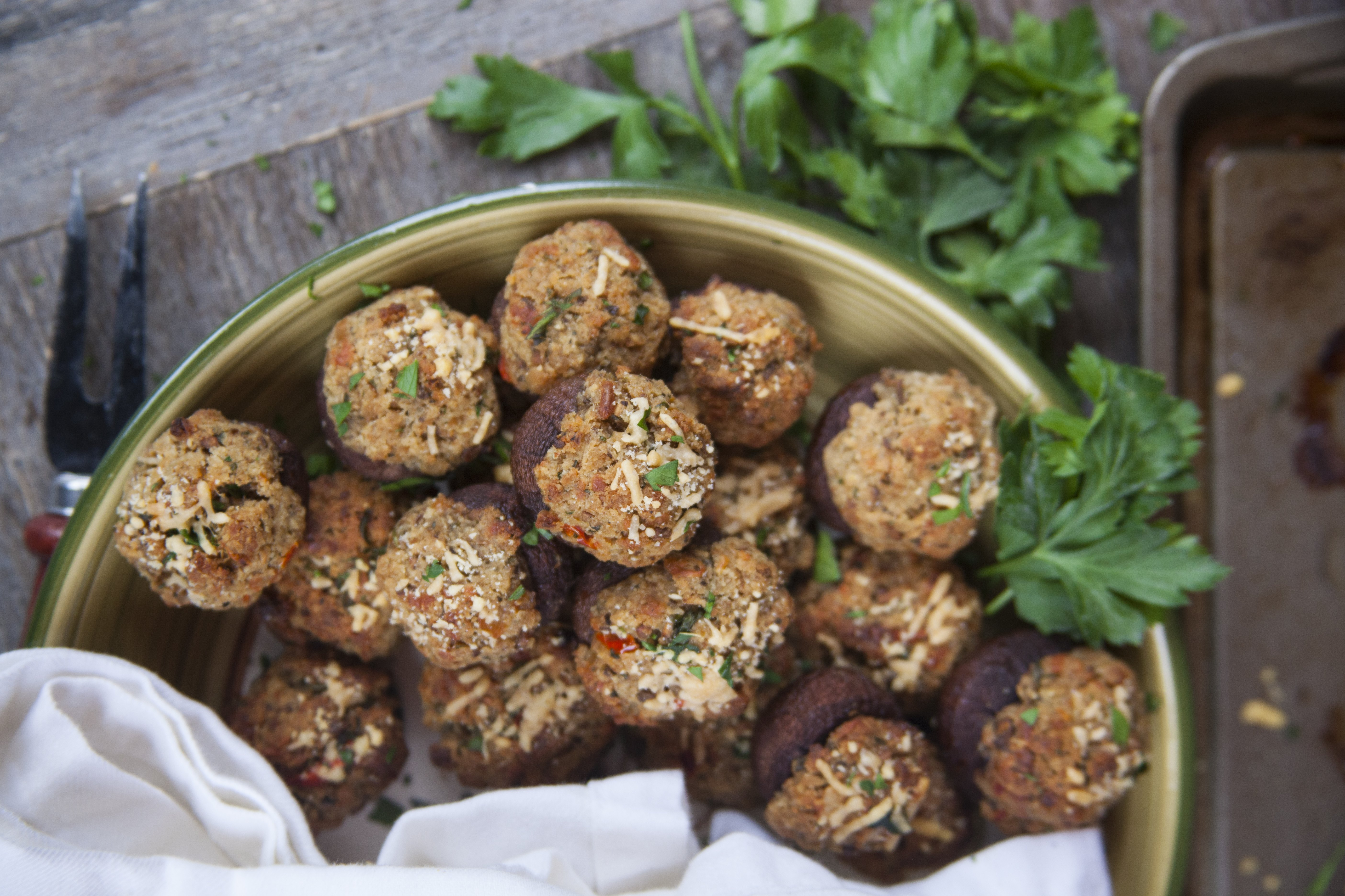 How to Cook Mushrooms in the Oven