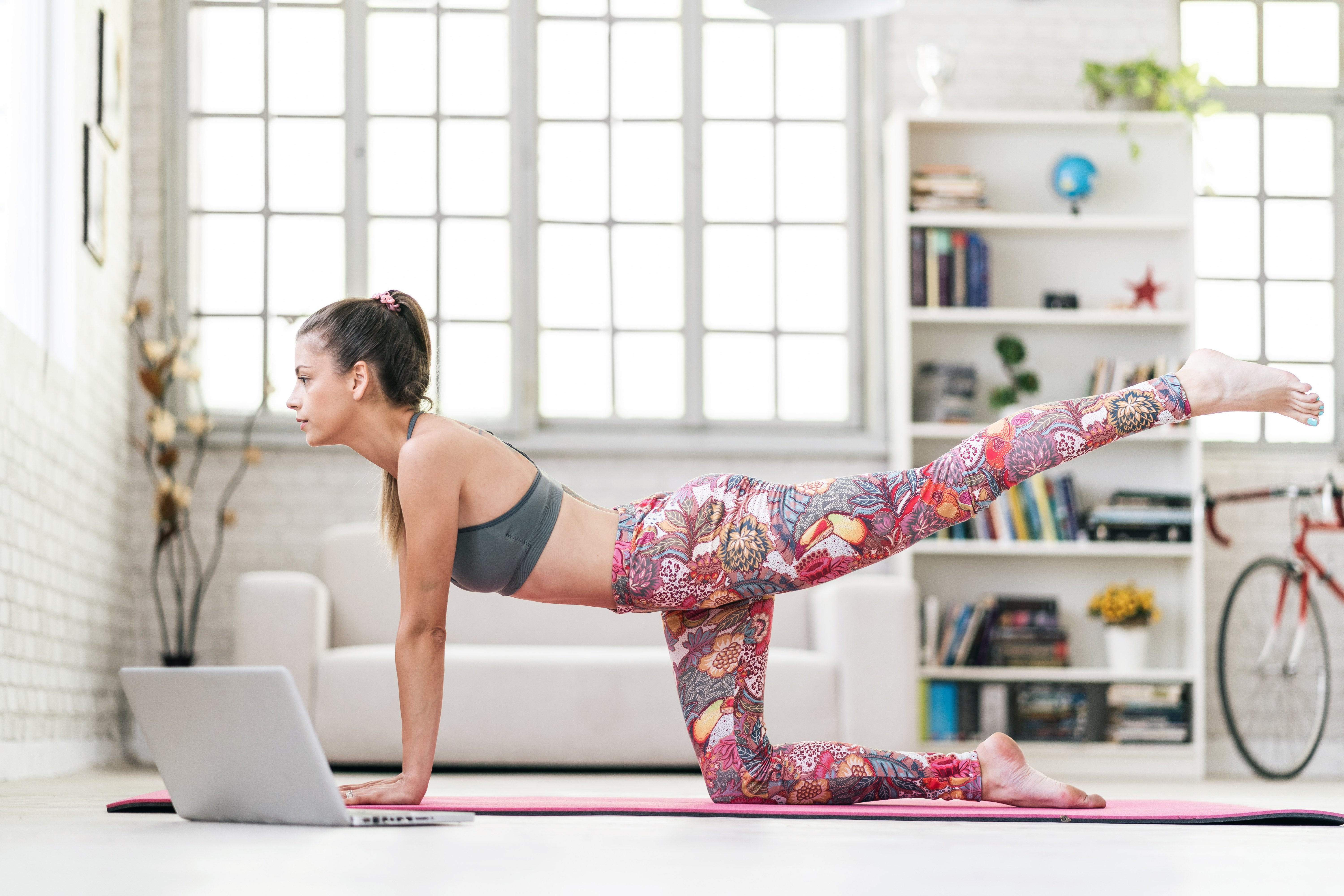 5 Live-Stream Workouts That Turn Your Living Room Into a Fitness Studio