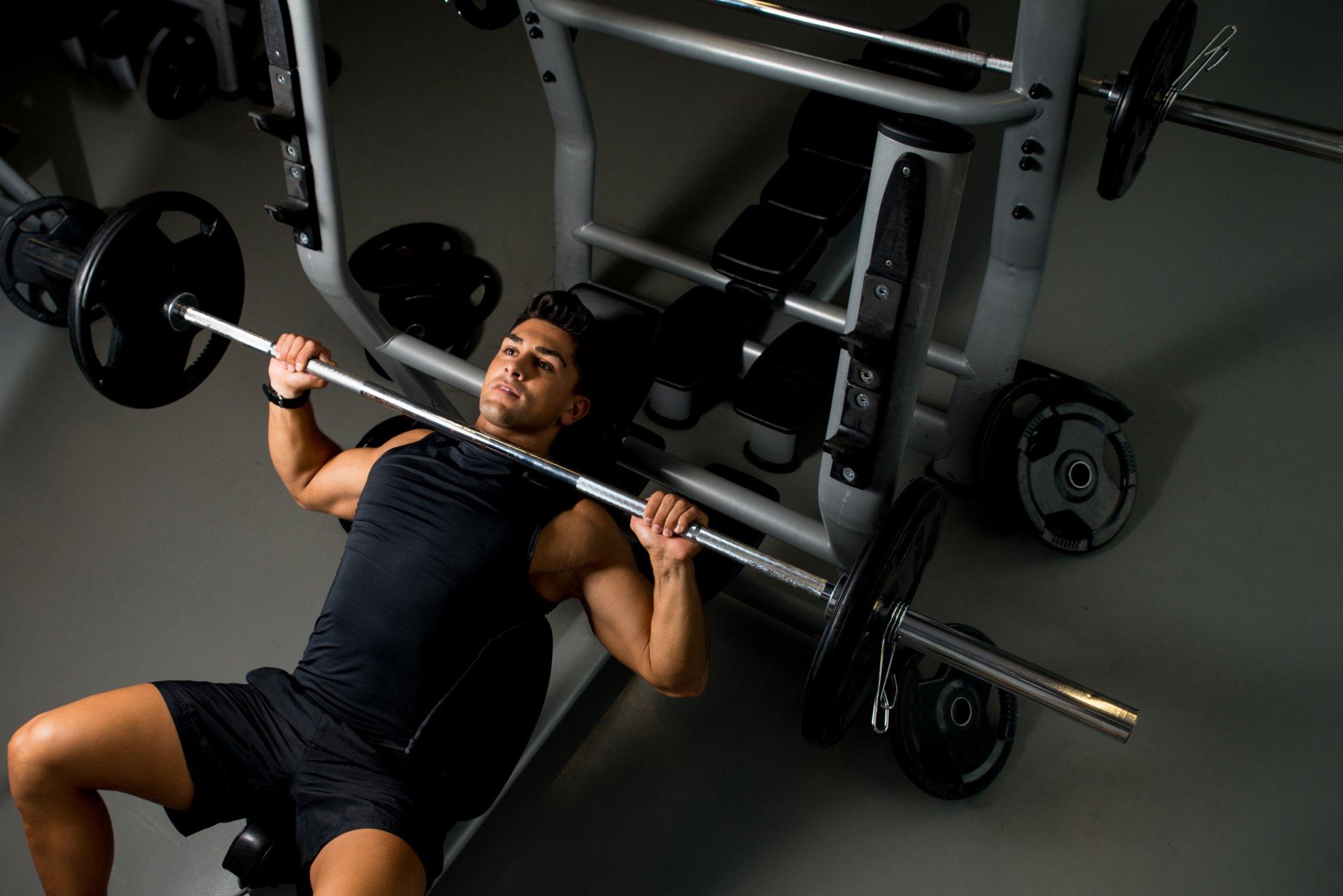 Full-Body Gym Workout for Men