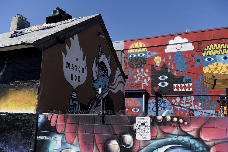 Street art in RiNo