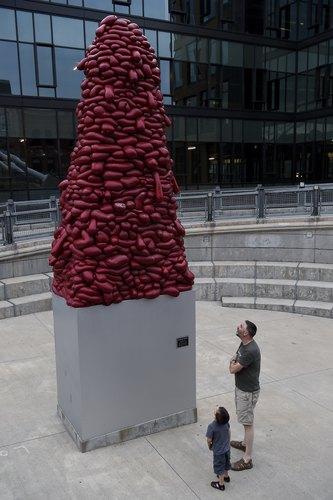Art outside MCA