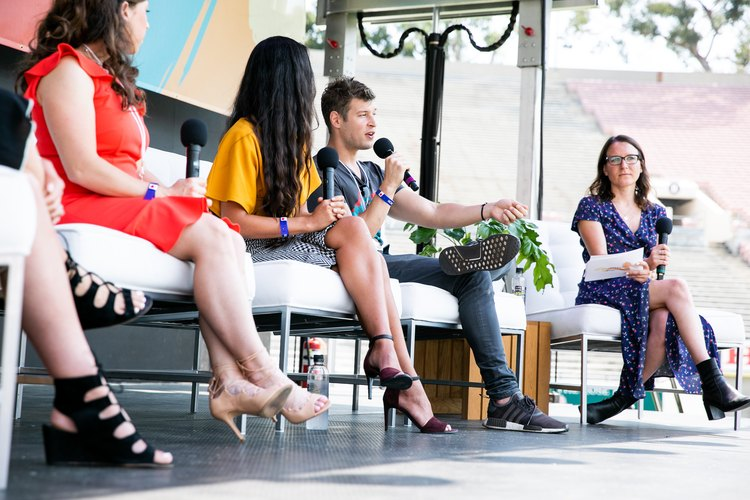 Nutrition panel at LIVESTRONG.COM Stronger Weekend