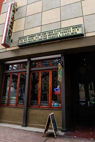 The Hideout Theatre in Austin, Texas