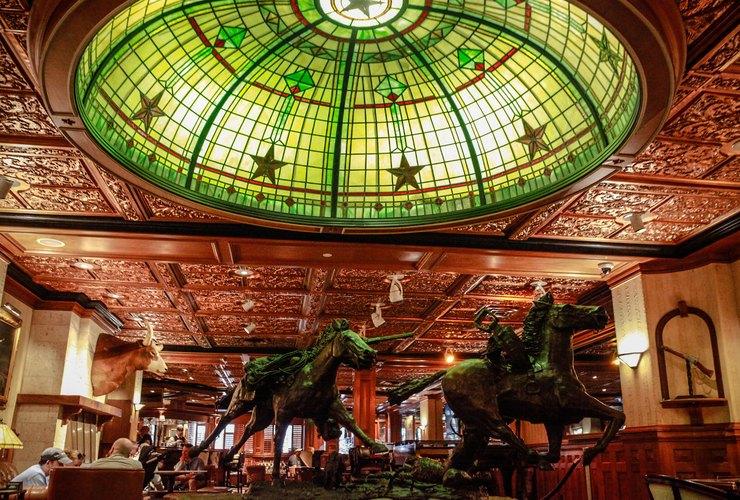The historic Driskill Hotel in Austin, Texas