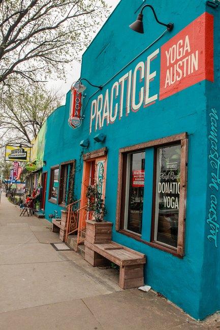 Practice Yoga, East Austin