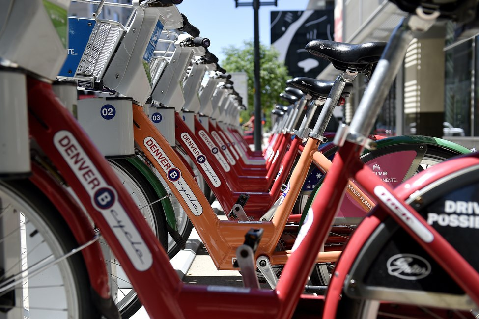 Denver bike share