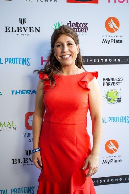 Erin Palinski-Wade at LIVESTRONG.COM Stronger Weekend
