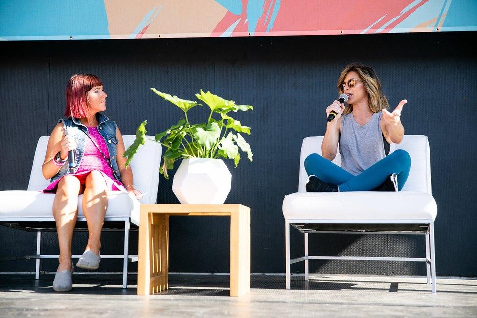 Jillian Michaels at LIVESTRONG.COM Stronger Weekend