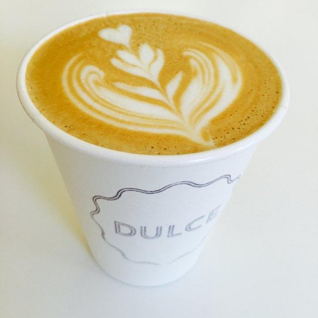 dulce latte art