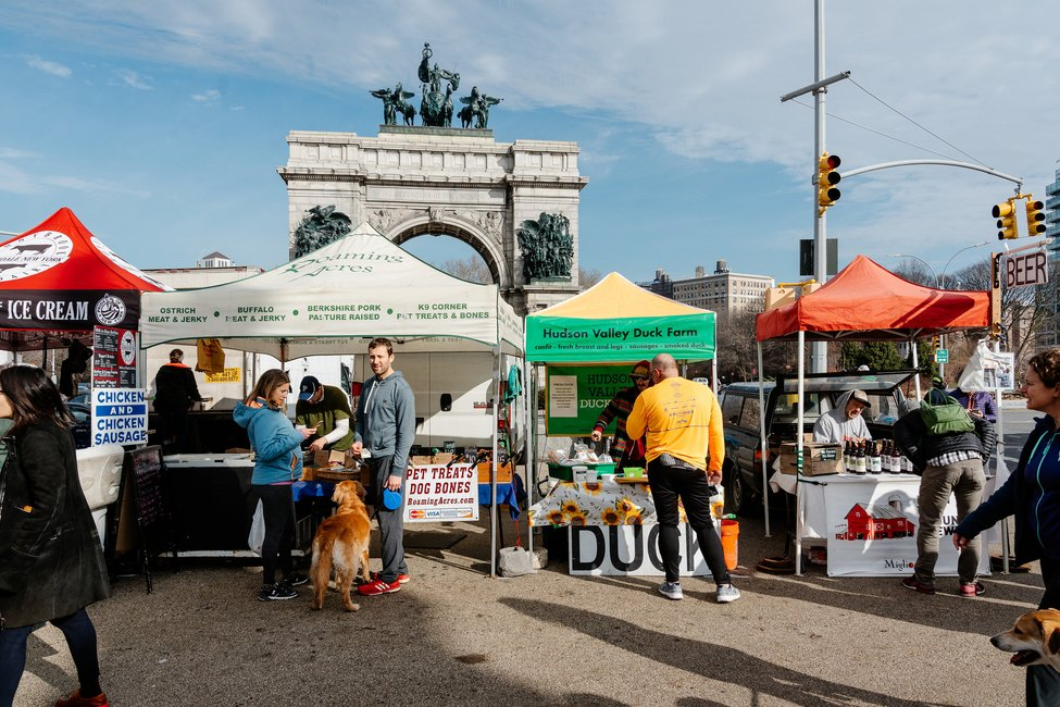 Greenmarket at Grand Army Plaza